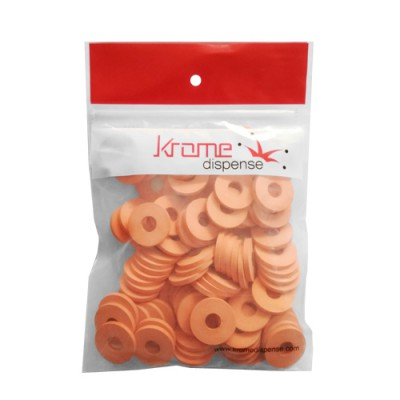 C6614x100 Grolsch Gaskets (Pack of 100 Pieces) - Krome
