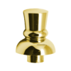 Top Hat Finial-Gold Coloured C688 Kromedispense
