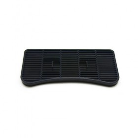 c808-12 x 6.5 Plastic Drip Tray - Without Drain-Krome