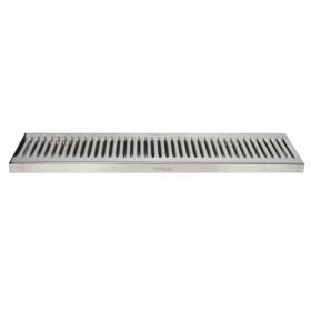 c819-45 x 5 Surface Drip Tray - Brushed Stainless - Without Drain-