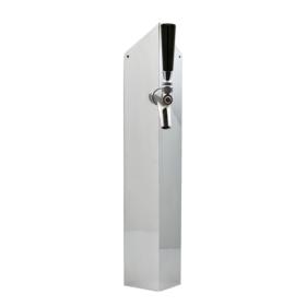 Sublime Tower - 1 Faucet - Chrome Plated - Glyco Cold Technology C945 kromedispense