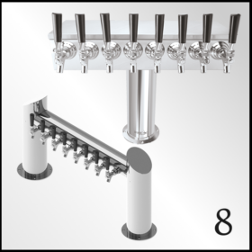 Eight Taps Beer Towers