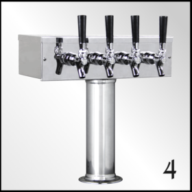 Four Tap Beer tower